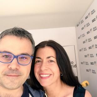 Con Marta González Novo