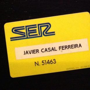 Primera tarjeta de empleado en Madrid