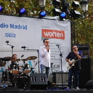 Sobre el escenario de Madrid Actúa (2013)