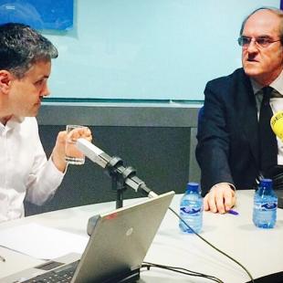 Con Ángel Gabilondo en La Ventana (2015)