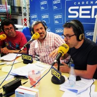 Con Alberto Granados en A Vivir Madrid