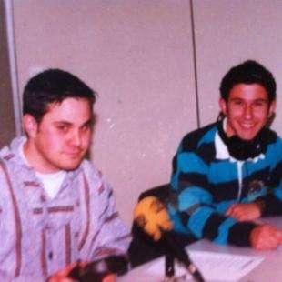 En la Universidad con Alfredo Arense (1994)
