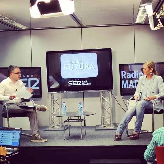 La delegada del Gobierno en Madrid responde a las preguntas de los oyentes