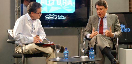 El presidente de la Comunidad de madrid en Madrid Futura